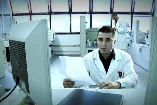 olive oil laboratory 1